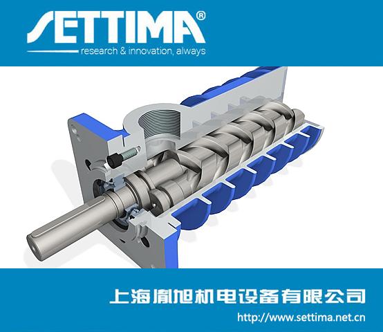 Settima 螺杆泵 SMU系列工业用三螺杆泵